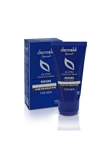 Dermokil Special For Men Gençler ıçin Maske Siyah Nokta Ve Sivilcelere Karşı Maske 50 Ml Renksiz